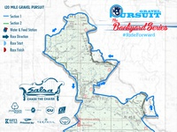 Gravel Pursuit 120Mi Course Map