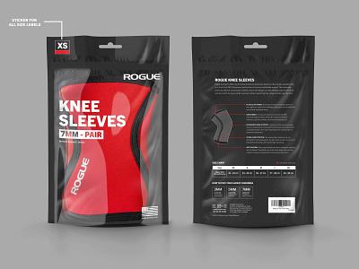 Knee Sleeve Packaging creative market branding typography packaging mockups packaging mockup mockup packaging design packaging design