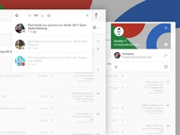 WIP - Google Gmail Redesign (Concept) III