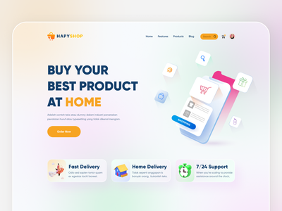 Online product buying landing page UI design website uiux clean uxdesign web colors gradient web design design ux ecommerce store shopping buyer online product userinterface user experience