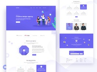Agency-Landing page