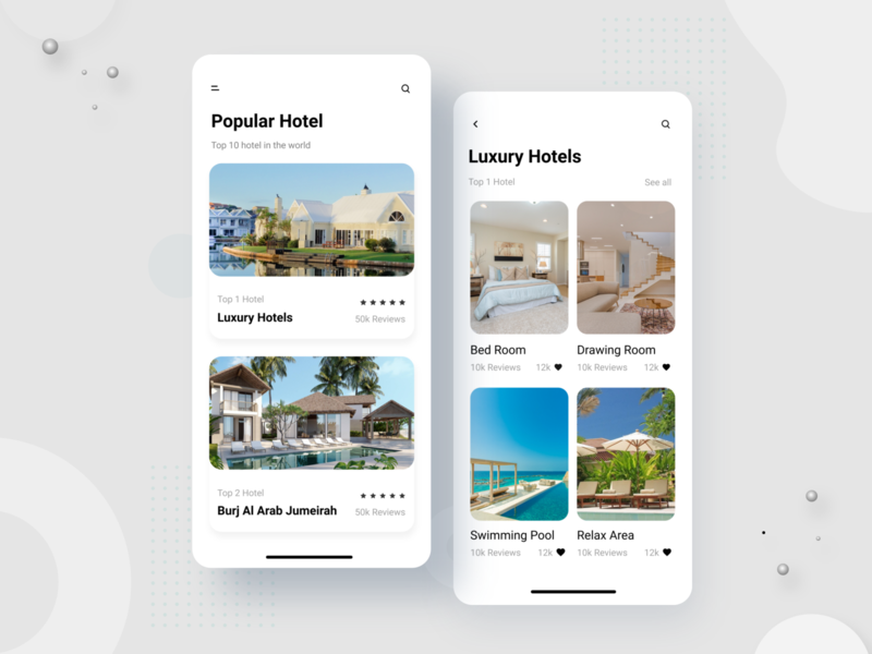 Hotel finding App Design app android ios ui travel app traveling travel hotel hotel app design branding product typography creative design minimal agency uiux