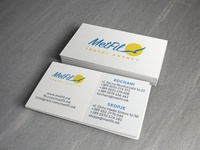 Business card - Travel agency