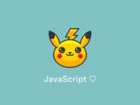 Minimal Pokemon 'Pikachu' logo ⚡️