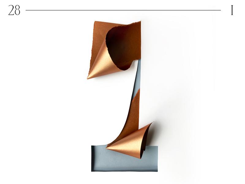 1   36 days of type logo customtype sculpture illustration 3dartist 3d geometrical geometry minimalistic minimalism typo 36 days of type 36daysoftype typography papercut branding paper paper art graphic design design illustration
