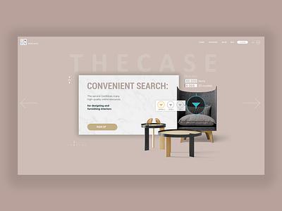UI design interior furniture ui  ux uiux ui design ui uidesign design