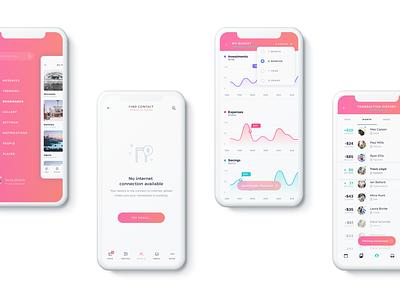 Mobile app minimal user interface flat ux mobile app design app ui  ux uiux ui design uidesign ui design