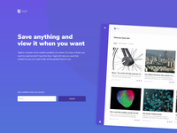 Landing page for tagit
