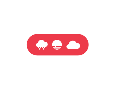 Partly Cloudy icon sun fog overcast clouds rounded icons weather
