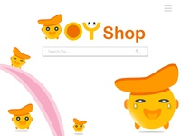 Landing Page for Toy shop