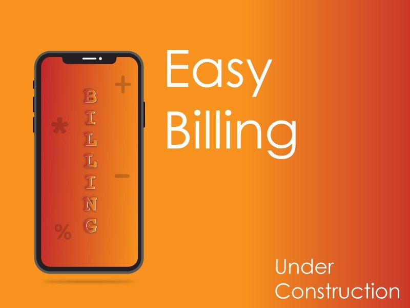 Billing Application billing application.