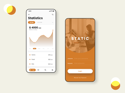 Daily UI #066 - Statistics daily ui 066 insight interface redesign stats statistical report statistic concept typography daily 100 challenge adobe xd illustration ui dailyui daily challange app ux design