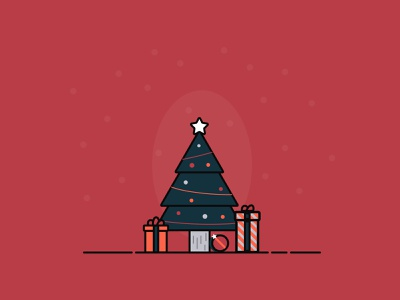 Happy Holidays ❄️⛄️🎄 minimalist minimal clean holiday season illustration design illustrations adobe illustrator 2021 calendar christmas party holiday design holidays holiday present christmas flyer christmas tree christmas card christmas vector illustration design