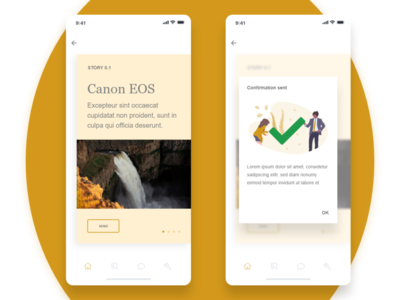 Daily UI #054  Confirmation