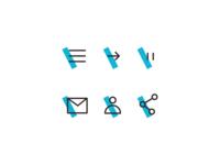 Daily UI #055  Icon Set
