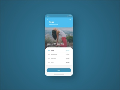 Daily UI #062 Workout of the Day