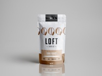 Weekly Warm Up I packaging for a fictional coffee brand
