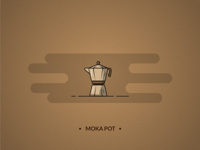 Moka pot - coffee set