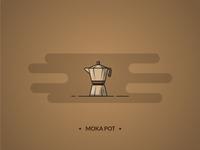 Moka pot - coffee set