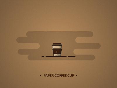 Coffee paper cup - coffee set illustration art branding brand design illustrator starbucks paper cup