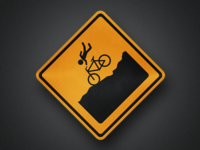 MTB bike bicycle sign logo mtb mountain bike