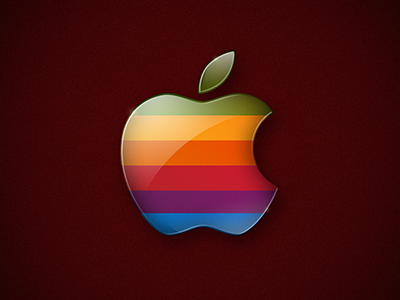 Classic apple classic wallpaper retro mac wall colors