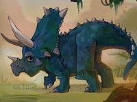 Blue Tricertops