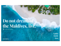 Travel to the Maldives!!!