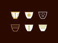 Arabic Coffee Cups 2