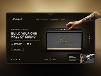 Stanmore II Speaker by Marshall