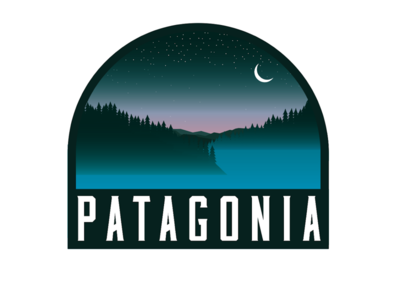 Patagonia Badge design