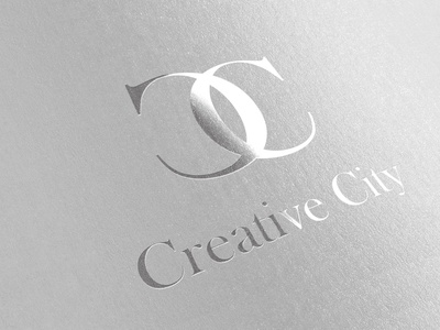 Creative City typography illustration branding design art dana bolloff berlin creative art direction freelance creative city logo design logo