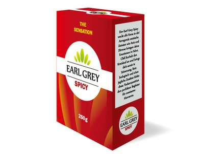 Tea Packaging earl grey earl grey spicy packagingdesign tea packaging tea tea packaging design