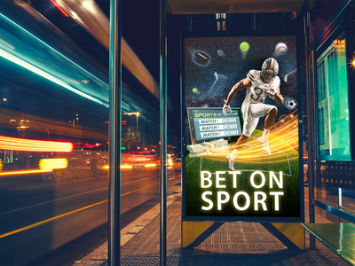 Banner for Online Casino and Betting Company graphic design design color betting casino banner poster sport