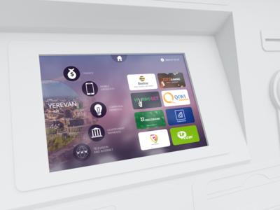 Payment terminal interface idesign
