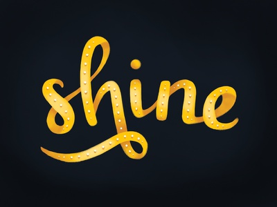 Gold Experiments  illustrative type script shine metallic gold dimensional type typography hand lettering