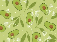 Avocado Pattern