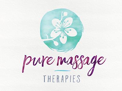massage therapy logo  Pure Massage Therapies Logo-Final 3 by J.Moss - Dribbble