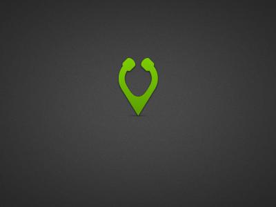 Search Icon logo icon identity branding green