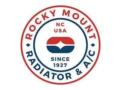 RM Radiator Badge branding badge mark logo