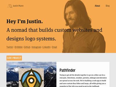 New Year, New Site mark logo design personal branding portfolio web design