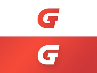 Monogram gt concept mark logo