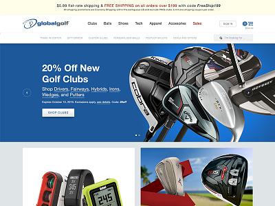 E-Commerce  Redesign Concept concept redesign ecommerce e-commerce website web design homepage