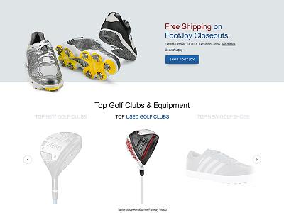 E-Commerce  Redesign Concept pt. II e-commerce ecommerce website web design homepage