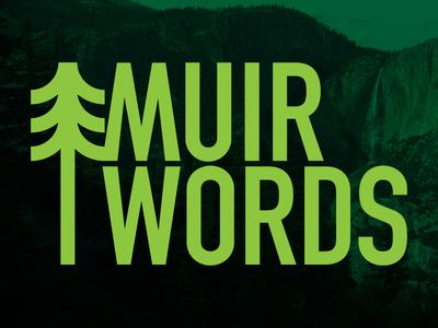 Muir Words web development logo design