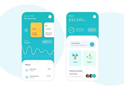 Finance App financial app finance app financial finances finance mobile design ui design ux design ux  ui uıdesign mobile design mobile app ui ux mobile app design sketch
