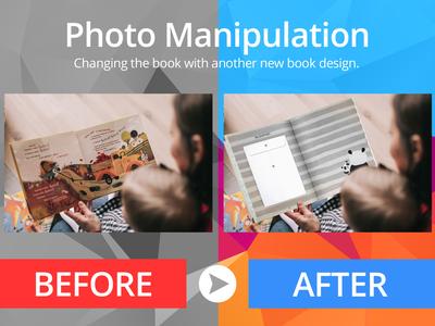 Photo Manipulation - Book Changed