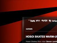 Hosoi Skates Glass Edge