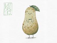 Kawaii pear