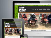 Lawn Mower Racing Site